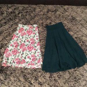 H&M Divided Skirt Combo